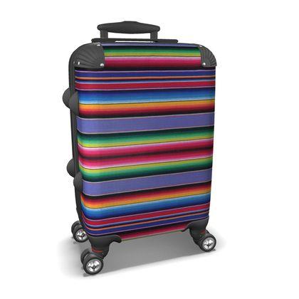 Carry-On  Suitcase – Serape-Print #8