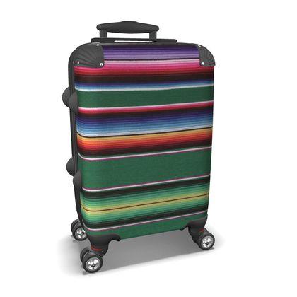 Carry-On Suitcase – Serape-Print #3