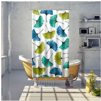 Ginkgo Flush Shower Curtain