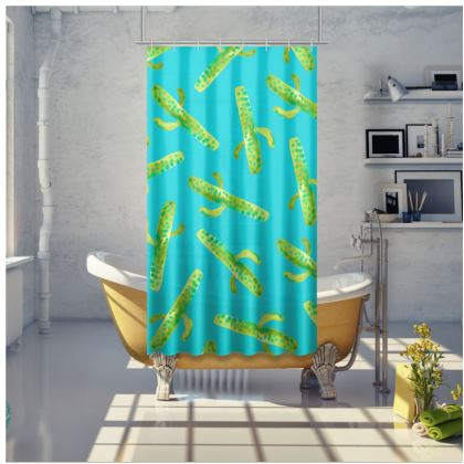 Cacti Oh My! Shower Curtain