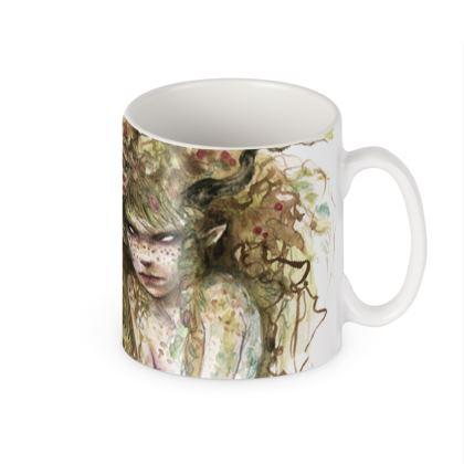 Woodland faery mug