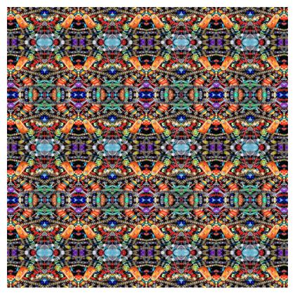 Zip Top Handbag – Bead-Bomb #6