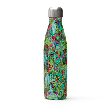 A green spring Thermal bottle