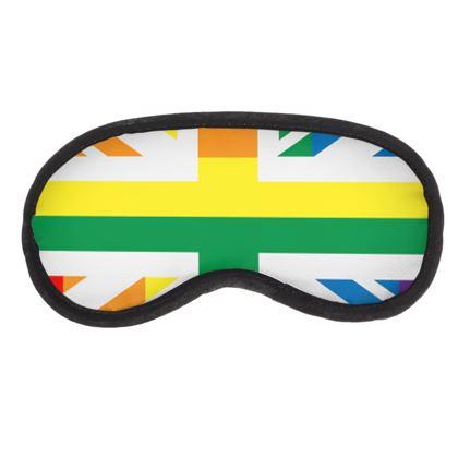 LGBTQ+ England UK flag eye mask