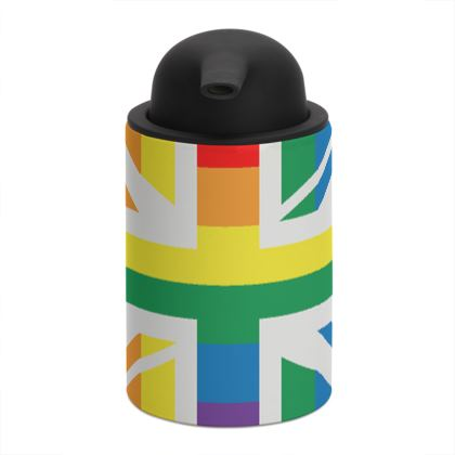 LGBTQ+ England UK flag soap dispenser