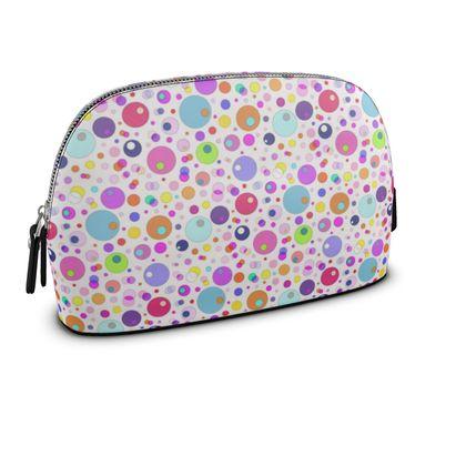 Atomic Collection Premium Nappa Make Up Bag