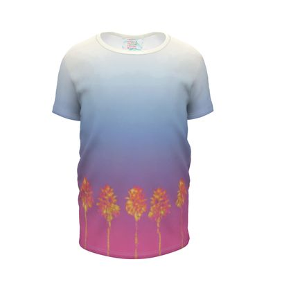 Palm Trees Collection Girls Premium T-Shirt