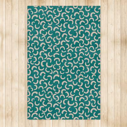 Rug - Turquoise motif