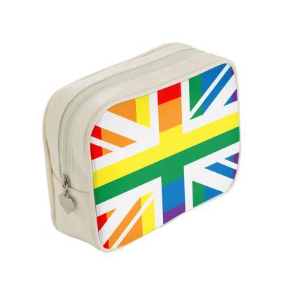 LGBTQ+ England UK flag make up bag