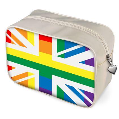 LGBTQ+ England UK flag wash bags