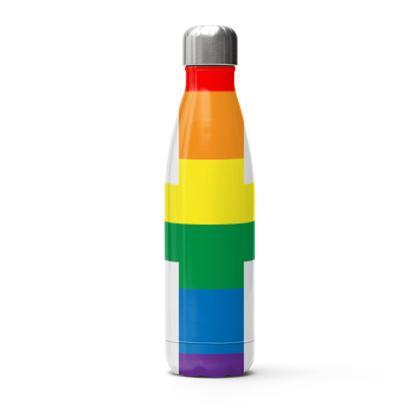 LGBTQ+ England UK flag thermal bottle