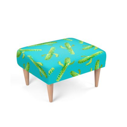 Cacti Oh My!Footstool