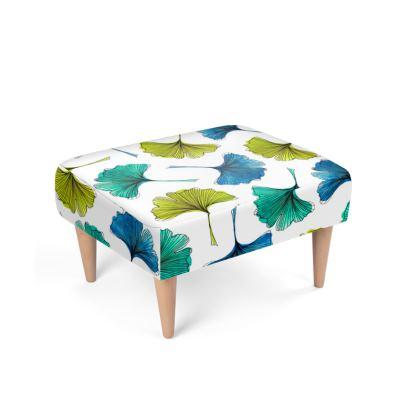 Ginkgo Flush Footstool