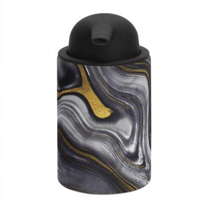 dark agate stone soap dispenser
