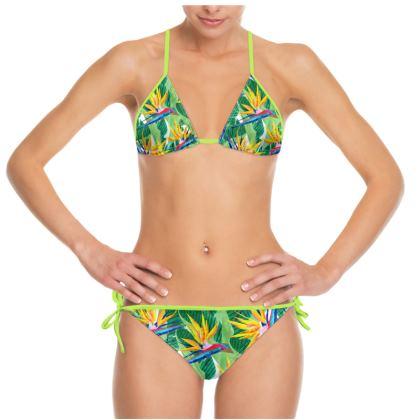Summer Strelitzia Bikini