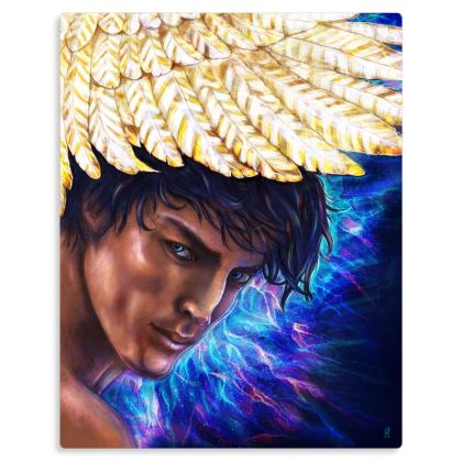 Archangel Michael Metal Prints
