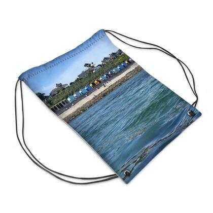 Castle Beach huts Swim Bag