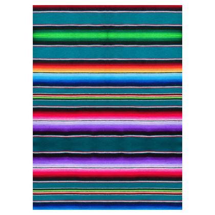 Socks – Serape-Print  #7 – Teal