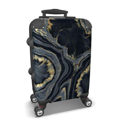 black agate suitcase