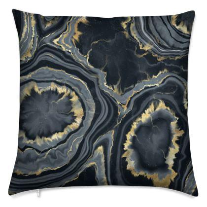 black agate cushions
