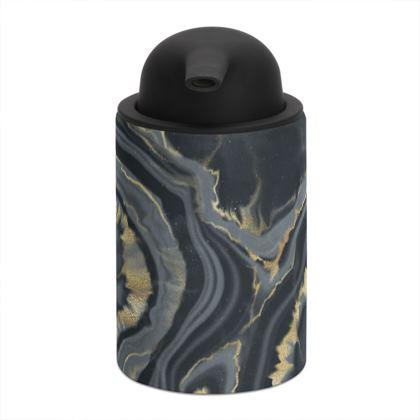 black agate doap dispenser