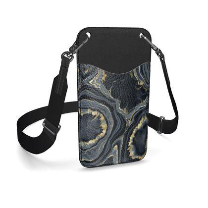 black agate phone case