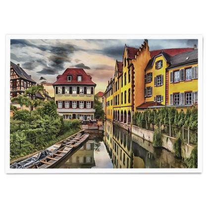 French Colmar - Paper Poster
