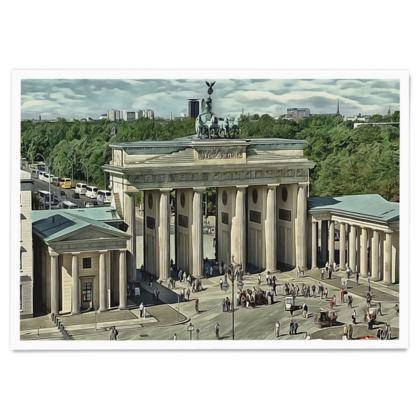 Brandenburg Gate - Paper Poster