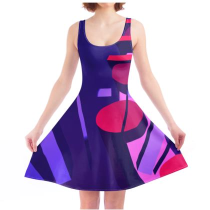 All Night Brainstorms - Skater Dress