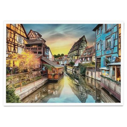 Colmar the Little Venice - Paper Poster