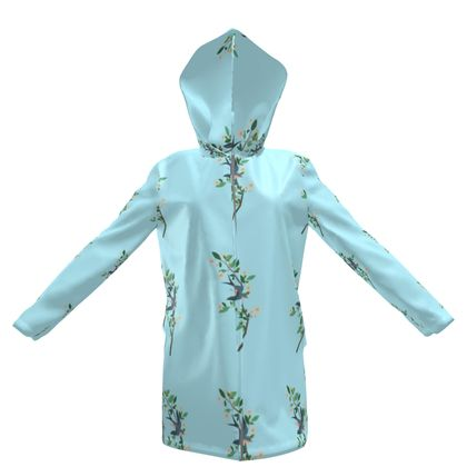 Women's Hooded Rain Mac