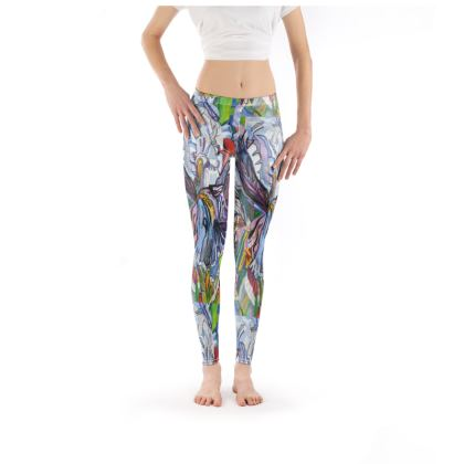 Iris Floral Leggings