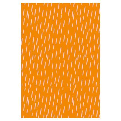 Raining Opportunities Tunic T Shirt in Orange