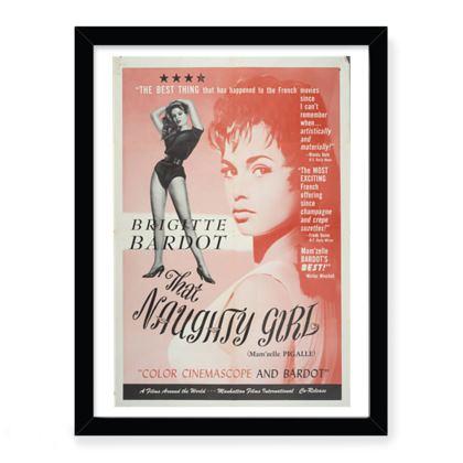 Bridget Bardot Classic Movie Print