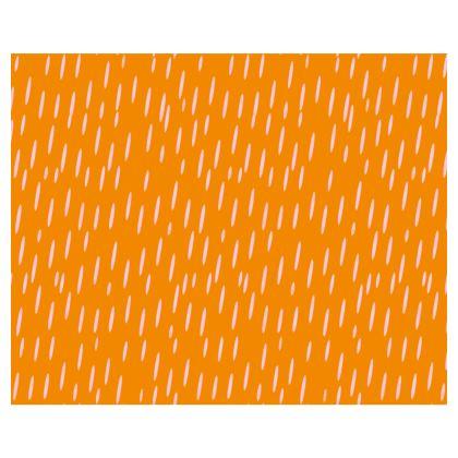 Raining Opportunities Kimono in Orange