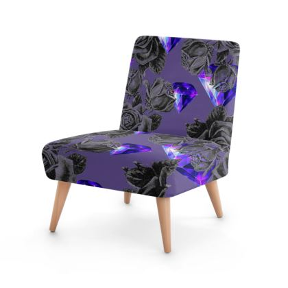 'Diamonds and Roses' Occasional Chair