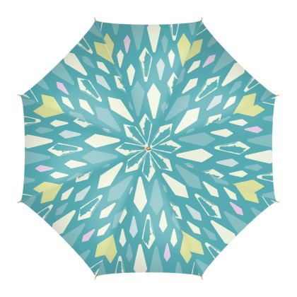 Kristalli Umbrella in Turquoise