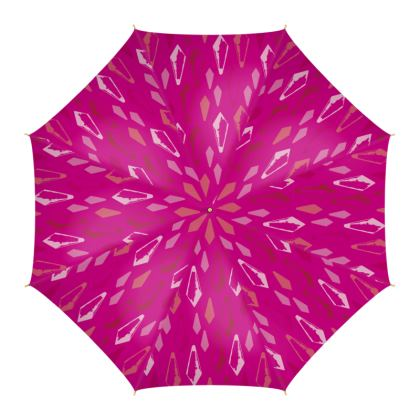 Kristalli Umbrella in Dark Pink