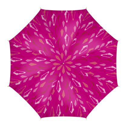 Kristalli Umbrella in Dark Pink
