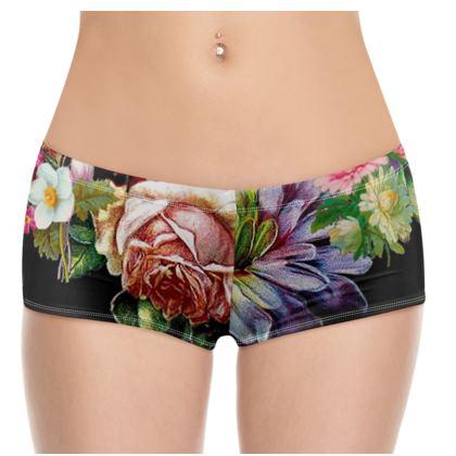 Victorian Posy 2 Hot Pants