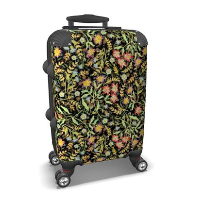 Midnight Meadows Carry On Suitcase