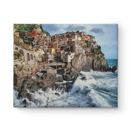 Manarola Cliff Houses - Canvas