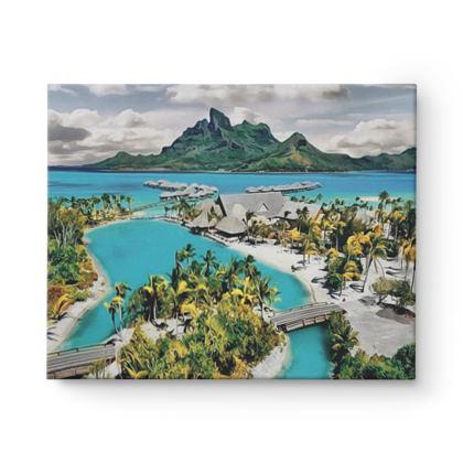 Bora Bora Main Island - Canvas