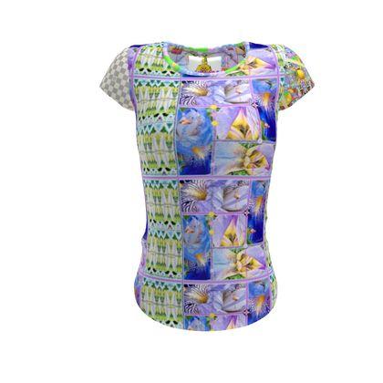 Designer t-shirt Schwertlilie Slip fit Ninibing34, XS