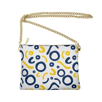 Crossbody Bag With Chain Nautical Finds