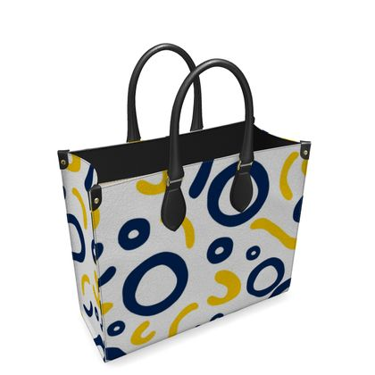 Leather Shopper Bag Nautical Finds