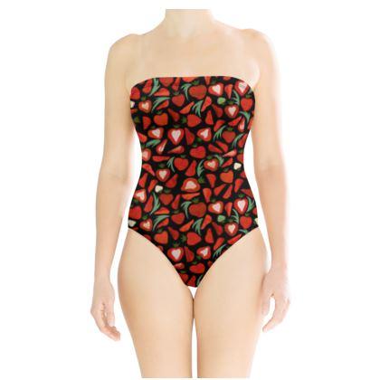 Maillot de bain strawberry field