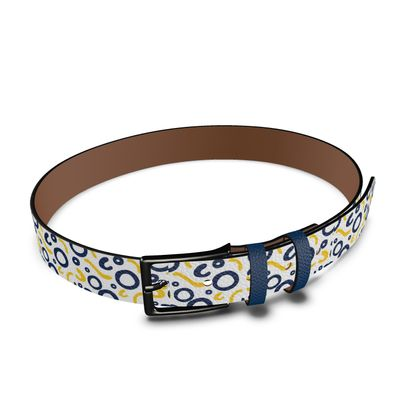 Leather Belt Nautical Finds