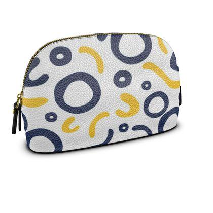 Premium Nappa Make Up Bag Nautical Finds