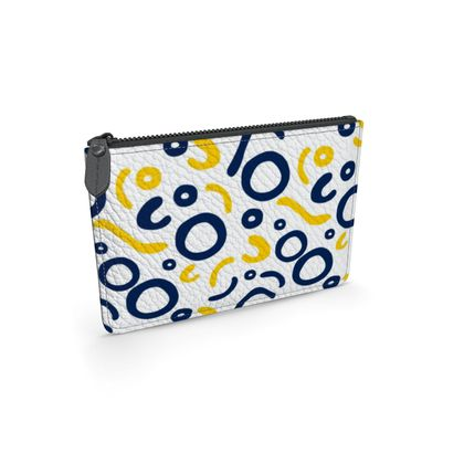 Leather Pouch Nautical Finds